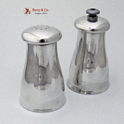 Sterling Silver Pepper Grinder and Salt Shaker Lunt 1970
