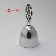 Arts and Crafts Tea Bell Watrous Sterling Silver 1910
