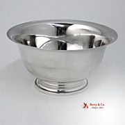 Randahl Footed Bowl Old Mark 1920 Sterling Silver No Monogram