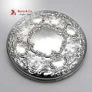 Old Master Pocket Mirror Towle Sterling Silver