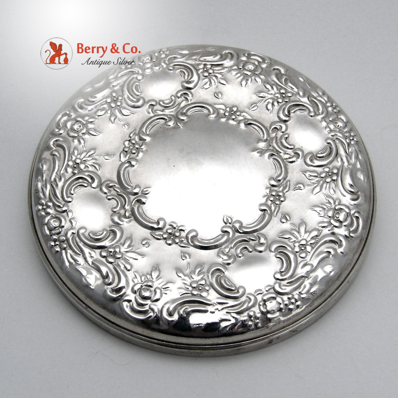 Old Master Pocket Mirror Towle Sterling Silver Sold On