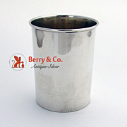 Large Shot Cup International Sterling Silver 1920