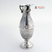 Vintage Bud Vase 800 Silver Italy