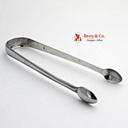 Thomas Northcote Sugar Tongs London 1791 Sterling Silver No Monogram