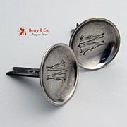 Russian 84 Standard Silver Corn Holders 1900