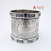 Coin Silver Napkin Ring 1880