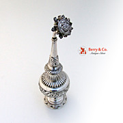 Asian Silver Rose Water Shaker 1900