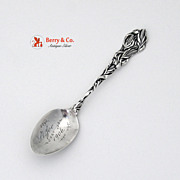 Corn Souvenir Spoon St Joe 1906 Bowl Paye and Baker Sterling Silver