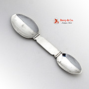Vintage Medicine Spoon Folding Sterling Silver Sanborns Mexico