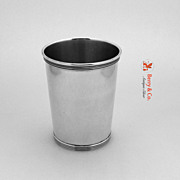 Mint Julep Cup William Kendrick Sterling Silver 1950 No Monogram