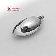 Folding Medicine Spoon Sideways George Henckel Sterling Silver 1900