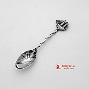 Whaling Souvenir Spoon Gorham 1895 Sterling Silver