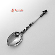 Apostle Spoon English Import Sterling Silver 1896