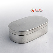 Austrian Snuff Box 813 Silver 183o Maker CS