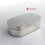 Austrian Snuff Box 813 Silver 183o Maker CS