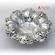 Francis I Medium Bon Bon Bowl Footed Sterling Silver Reed and Barton 1900