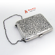 Antique Sterling Silver Evening Purse Blackinton 1900