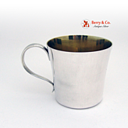 Baby Cup Sterling Silver No Monogram