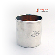 Classic Baby Cup Gilt Interior Alvin Sterling Silver MAB