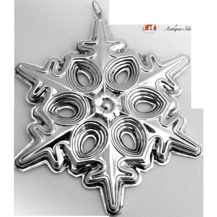 Gorham Silver Christmas Ornaments