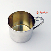Sterling Baby Cup Engagement Oneida 1952