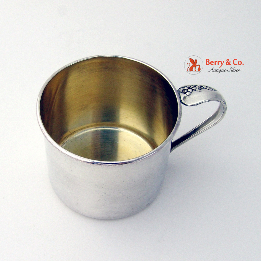 Sterling Baby Cup Engagement Oneida 1952 From Berrycom Com