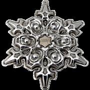 Gorham Christmas Ornament Sterling Silver 1984