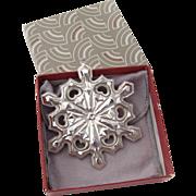 Gorham Christmas Ornament Sterling Silver 1979