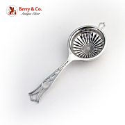 Tea Strainer Sterling Silver Webster