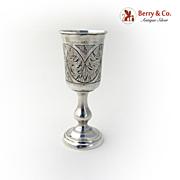 Russian Vodka Cup Standard 84 Silver 1890
