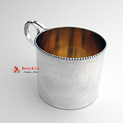 Baby Cup Sterling Silver Wallace