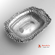 Serving Bowl Sterling Silver Rococo Whiting