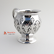 Cup Sterling Silver International Acid Floral 1910