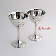 Trophy Cups Sterling Silver Olympic