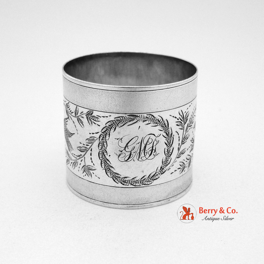 napkin ring sterling silver 1875 from berrycom on ruby