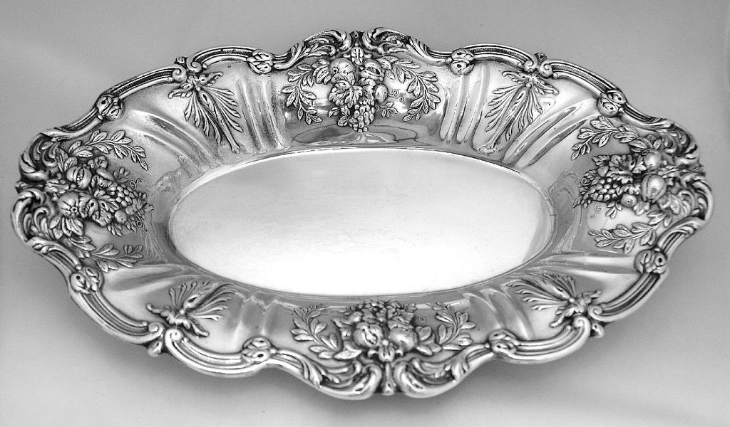 Francis I Bread Tray Reed & Barton Sterling Silver