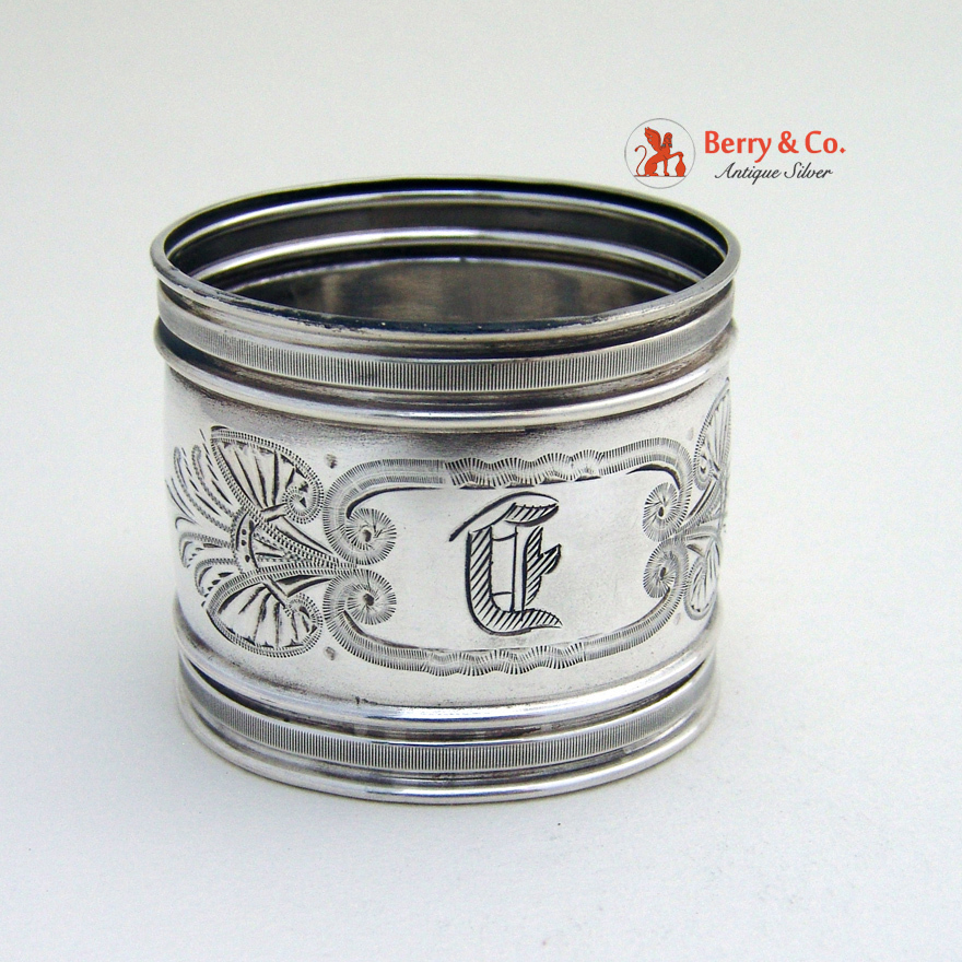 napkin ring gorham sterling silver 1877 from berrycom