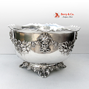 Punch Bowl Bacchus Sterling Silver Bailey-Banks and Biddle Co
