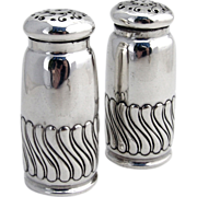 Salt and Pepper Shakers Sterling Silver Gorham