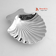 Tiffany and Co Shell Dish Nut Cup Sterling Silver