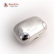 Tiffany Soap Box Sterling Silver 1920