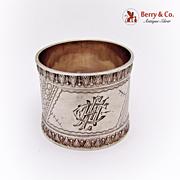 Aesthetic Napkin Ring Sterling Silver 1900