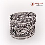 Dutch Peppermint Box 833 Silver 1880