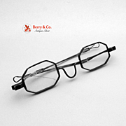 Reading Glasses Coin Silver Spectacles 1860