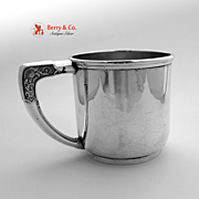 Sterling Silver Mug Christmas Whiting