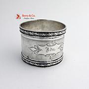 Coin Silver Napkin Ring