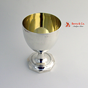English Sterling Silver Chalice London 1805