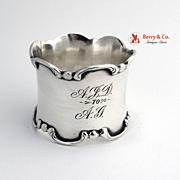 Sterling Silver Napkin Ring Gorham