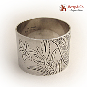 Aesthetic Napkin Ring 1880 Sterling Silver