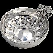 Wine Taster or Tasterin French Sterling Silver 1900